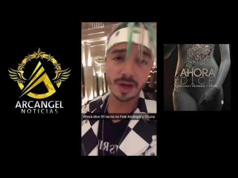 J Balvin ,Arcangel Y Ozuna clip de AHORA DICE Detras De La camaras