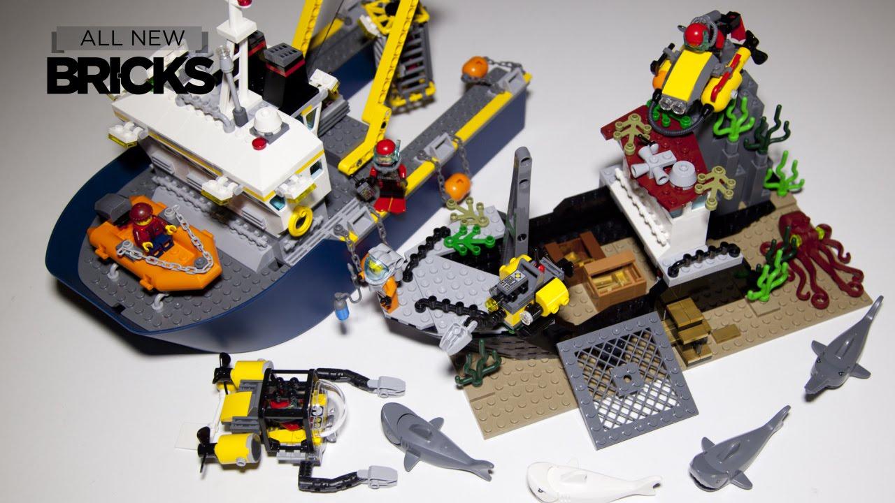 Lego City 60095 Deep Sea Exploration Vessel Speed Build - YouTube