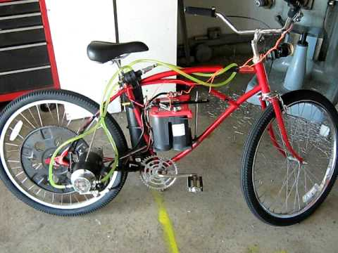 water cooled car starter electric bike youtube