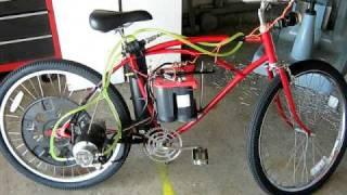 water cooled car starter electric bike