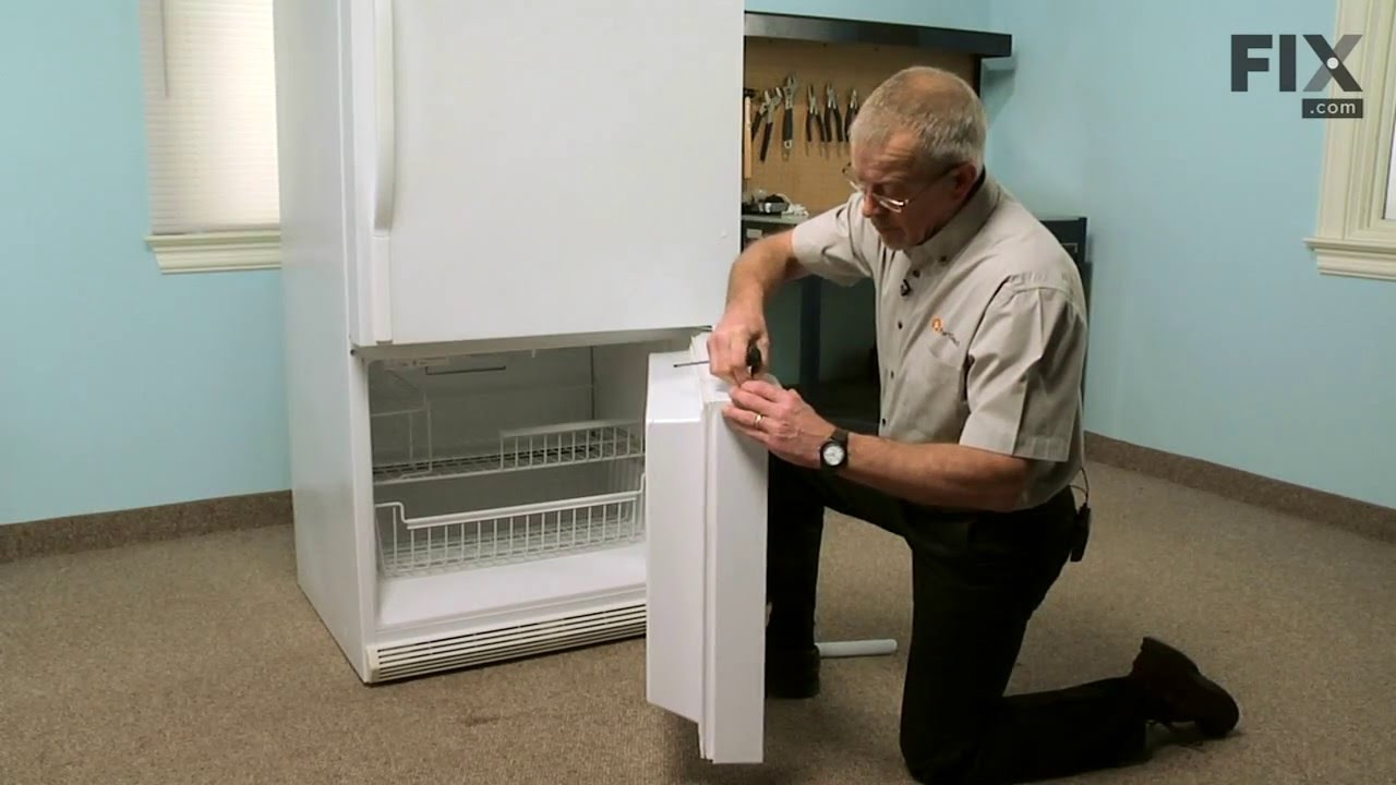 Amana Refrigerator Repair How To Replace The Freezer