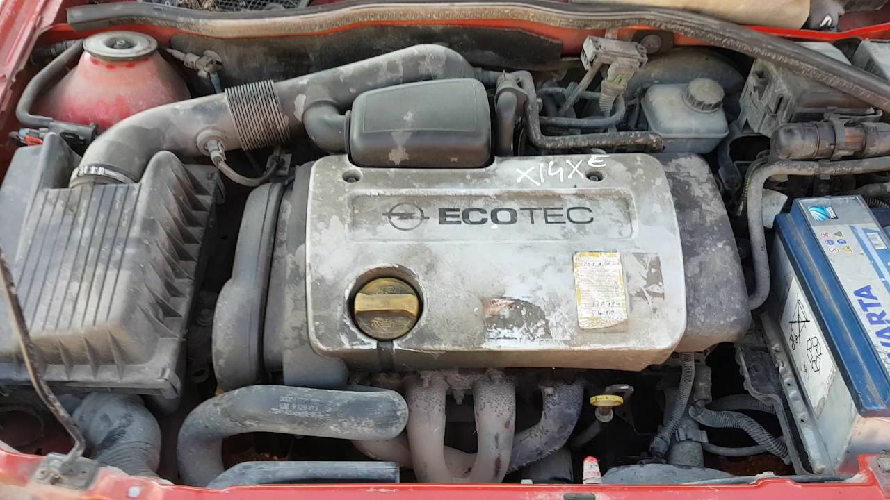 Engine Car Recycler Parts Opel Astra G 1999 1 4 16v 66kw