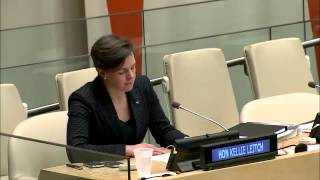Kellie Leitch Speech at the United Nations