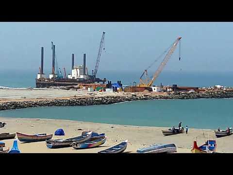 Vizhinjam Deepwater Container Transshipment Terminal Construction Progress