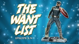 The Want List #3.14: Life-sized Captain America