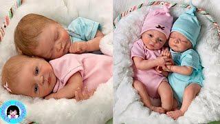 UNBOXING! Madison And Mason Twins Poseable Twin Baby Doll Life-like Babies! ★ DARLINGDOLLS