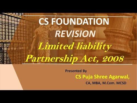 limited liability partnership act 2008