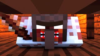 Granny vs Villager Life 1 - Granny Horror Game Minecraft Animation