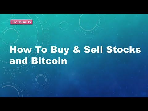 Tutorial on how to trade bitcoin