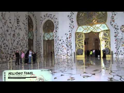Visiting Sheikh Zayed Grand Mosque