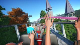 [Planet Coaster] Untitled - Wooden Coaster