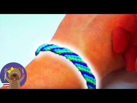 Friendship Bracelets Beginner Easy - DIY Friendship Bracelet Tutorial
