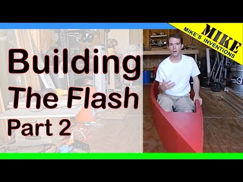 Cardboard Boat 2015: The Flash. Build Part 2/2