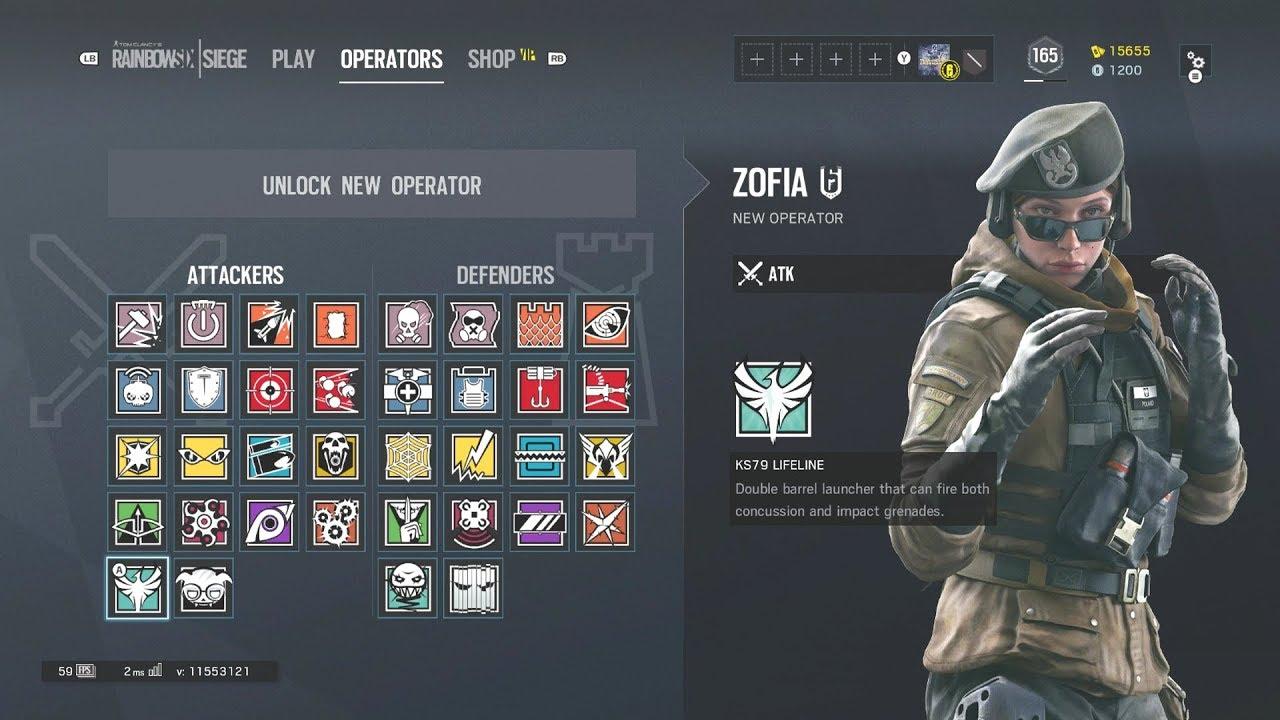 Rainbow six siege operators bio 39 s operator zofia bosak - Rainbow six siege bosak ...
