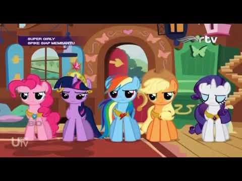 my little pony bahasa indonesia : melepas discord part 2/4 - youtube
