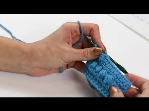 How To Crochet Letters On A Scarf Using The Puff Stitch Crochet