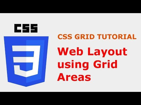 CSS Grid Layout Tutorial: Grid Areas thumbnail