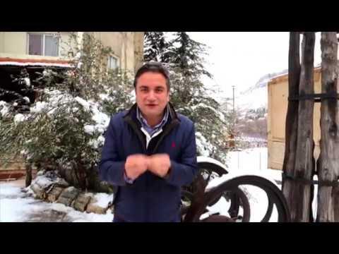 Winter in the Village of Faraya
