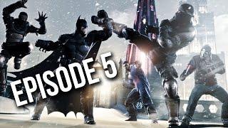 Batman: Arkham Origins - Cold, Cold Heart Gameplay - Episode 5 - Frozen