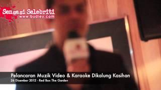 Pelancaran Muzik Video & Karaoke Dikalung Kasihan Imran Ajmain
