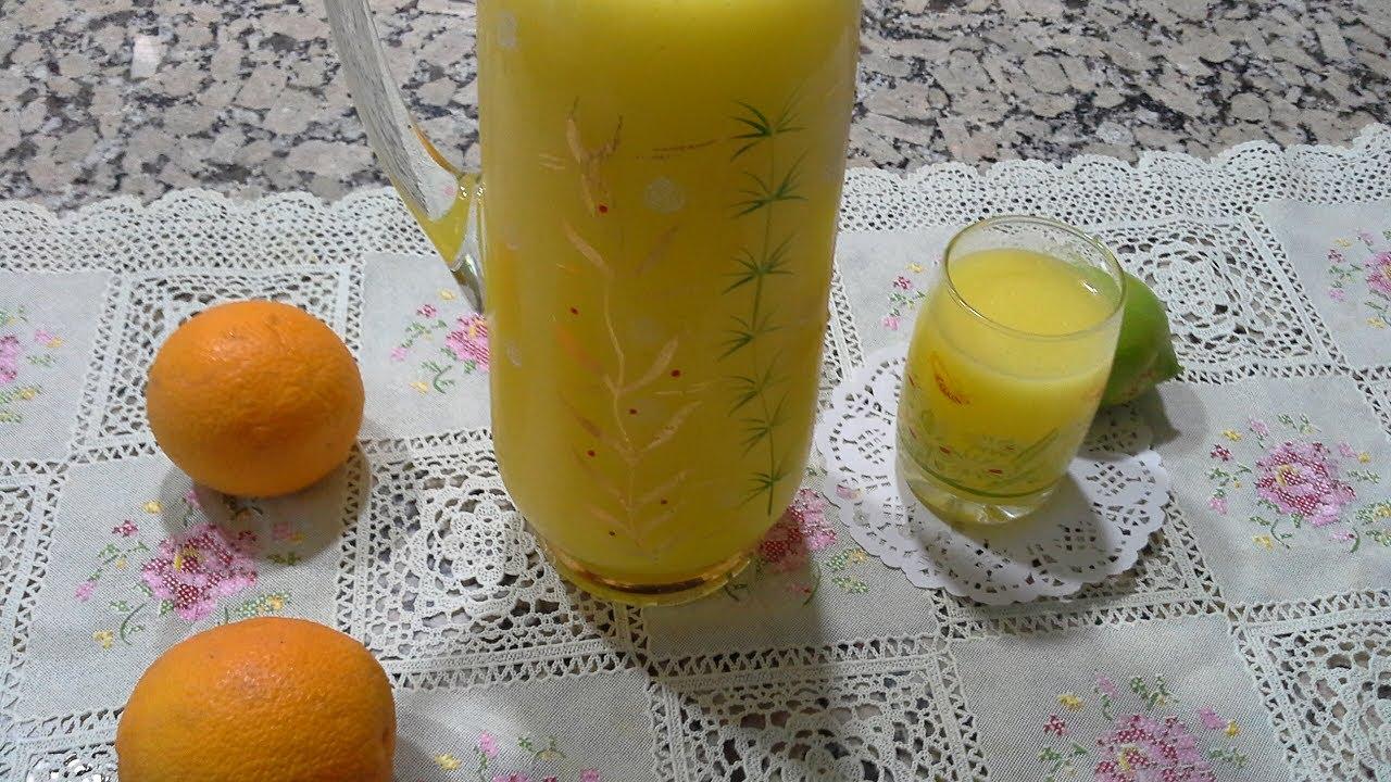 وصفة عصير البرتقال التركي من مطبخ سلسبيل Recette De Jus D Orange