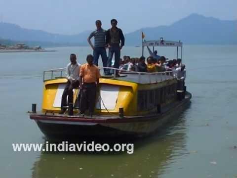 A river cruise in Brahmaputra
