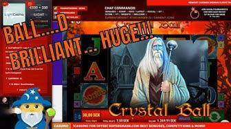 Crystall Ball MEGA Win!!