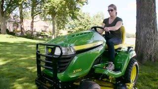 X500 Select Series Lawn Tractor X590 48 In Deck John Deere Us