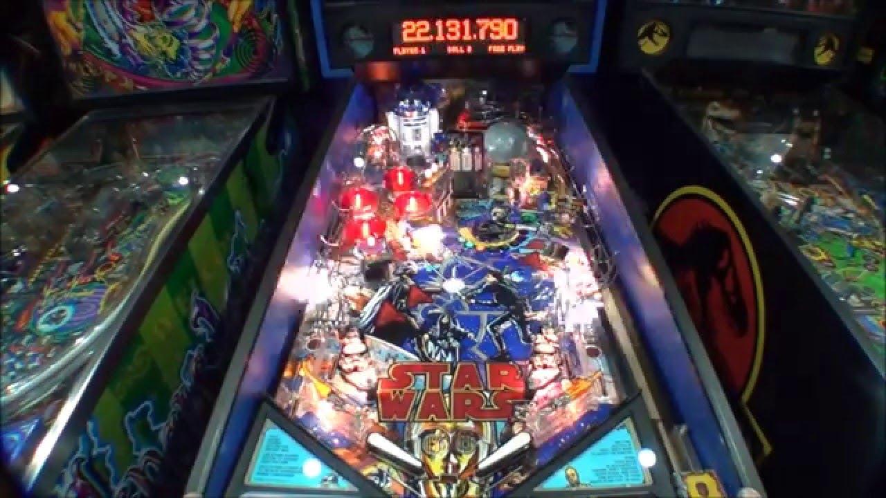 Star Wars Pinball Machine >> Data East Star Wars pinball with Pinsound sound board ...