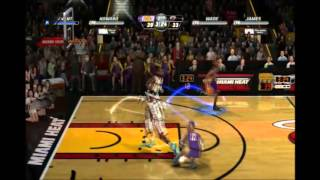 NBA Jam on Fire Edition Lakers vs Heat Roster Updated