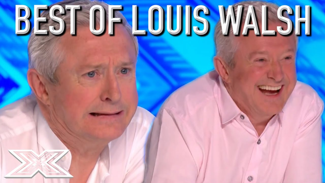 JUDGES HIGHLIGHTS - Best Of LOUIS WALSH On The X Factor UK | X Factor Global