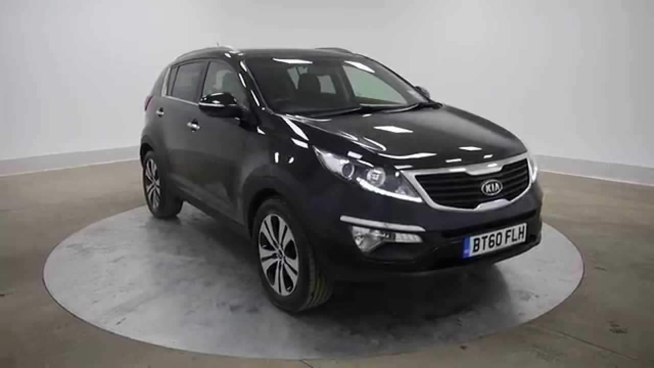 2011 kia sportage 3 1 7crdi black 5d for sale in hampshire youtube. Black Bedroom Furniture Sets. Home Design Ideas