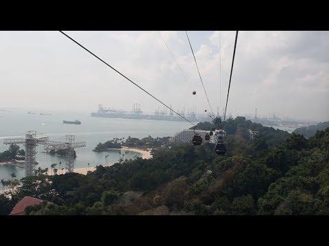 Sentosa Island, Singapore - Singapore Cable Car (2018)