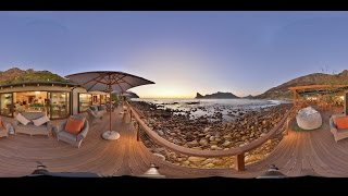360 VR Video of Tintswalo Atlantic , Hout Bay South Africa
