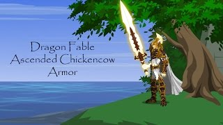 Dragon Fable Ascended Chickencow Armor