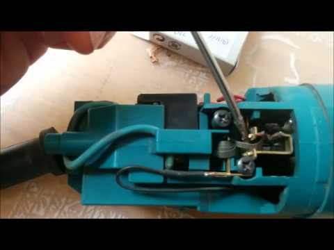 How to replace makita carbon brushes Makita Buffer Switch Wiring Diagram on