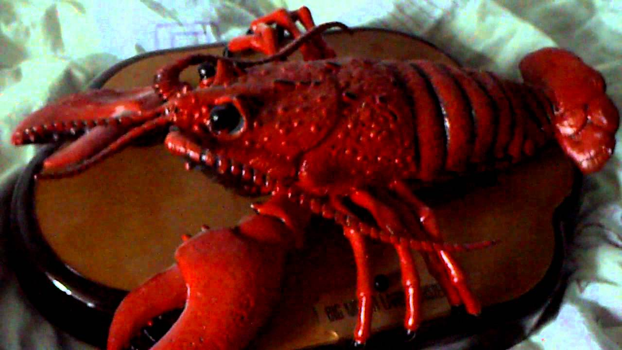 Big mouth Larry Lobster singing lobster - YouTube