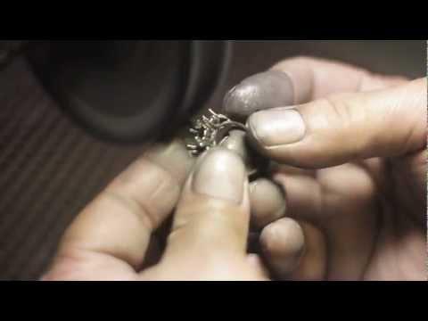 Gold  polishing process