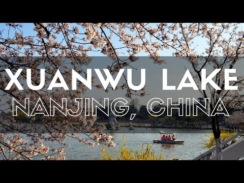 NANJING'S BIGGEST PARK - Xuanwu Lake Nanjing, China