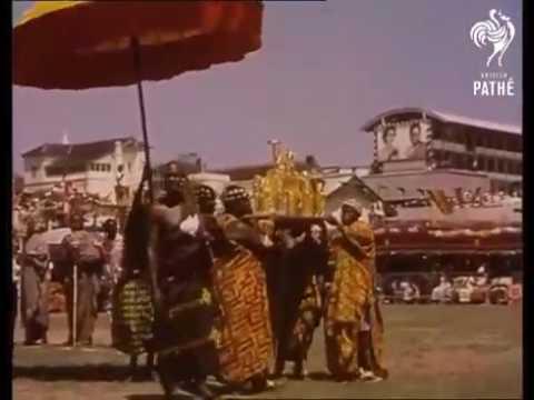 Queen Elizabeth's visit to Ghana