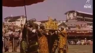 Queen Elizabeths visit to Ghana