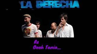 Tania La Derecha con letras y acordes (with lyrics and chords)