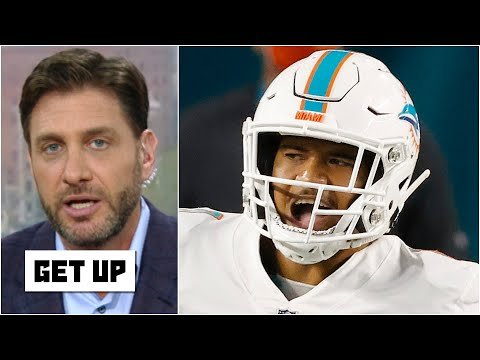 Greeny: Tua Tagovailoa is under more pressure than Joe Burrow and Justin Herbert combined!   Get Up