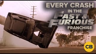 Every Crash in the Fast and the Furious Franchise