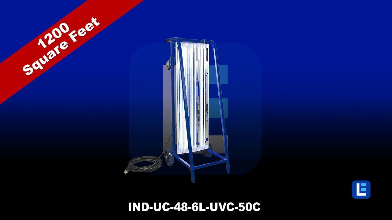 Portable Ultraviolet UV-C Sanitation Carts -  USA Made - In Stock & Ready to Ship