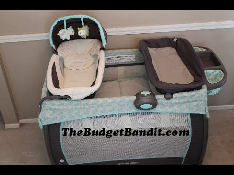 Ingenuity Washable Playard Deluxe With Dream Centre Emerson Youtube