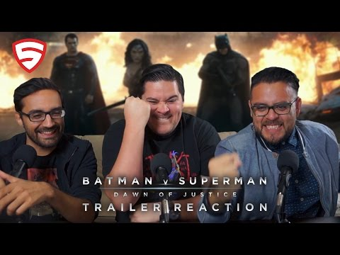 Batman v Superman: Dawn of Justice - Official Trailer 2 Reaction!