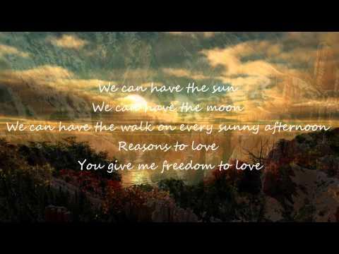 Lexter - Freedom To Love Lyrics
