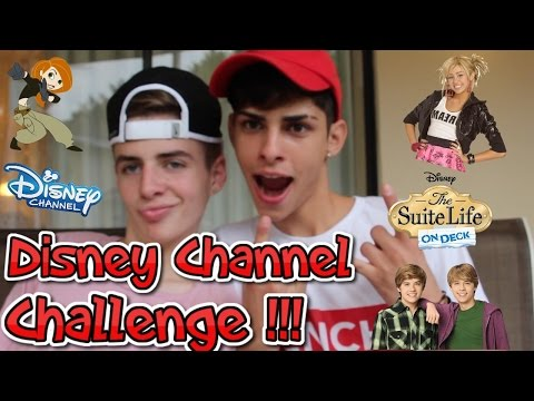 Disney Channel Challenge W/ BruhItsZach ! - ( Flamingeos )
