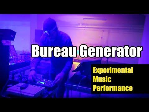 Bureau Generator Experimental Music Performance Eindhoven